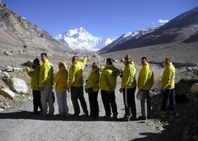 Tibet - El campo base del  Everest